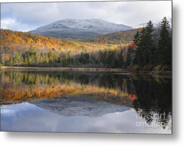 Kiah Pond - Sandwich New Hampshire Usa Metal Print