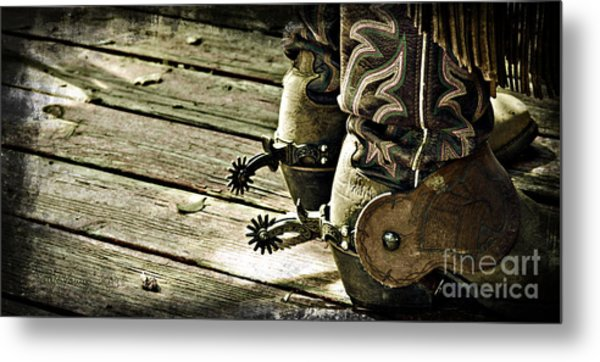Kick Start Metal Print by Larry Young