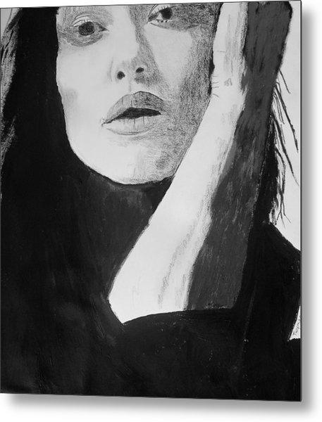 Kiera Knightley Metal Print by Dan Twyman