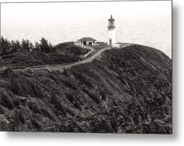 Kilauea Lighthouse Metal Print