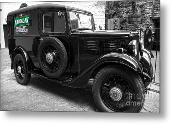 Kilbeggan Distillery's Old Car Metal Print
