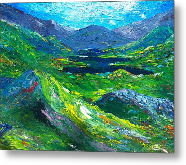 Killarney The Kingdom Of Kerry Metal Print