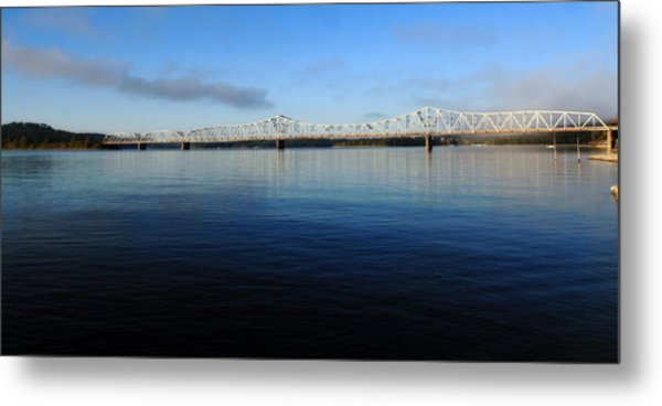 Kimberling City Bridge Metal Print