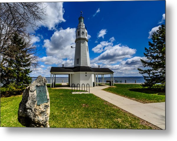 Kimberly Point Lighthouse Metal Print