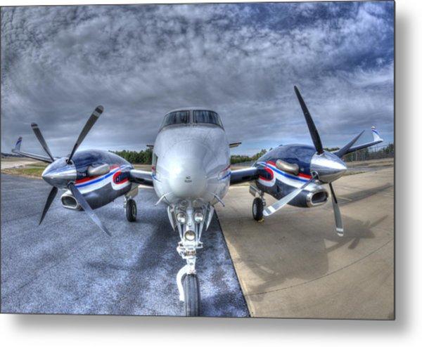 King Air C90 Metal Print
