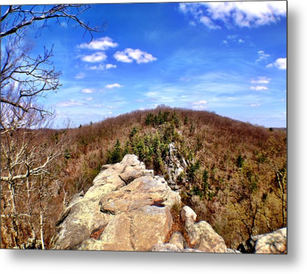 King And Queen's Seat Metal Print