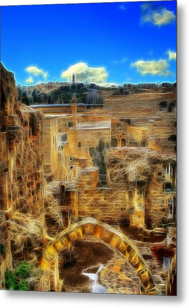 Peaceful Israel Metal Print
