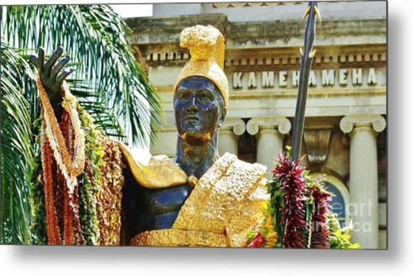 King Kamehameha The First Metal Print by Craig Wood