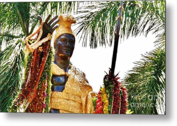 King Kamehameha The Great Metal Print by Craig Wood