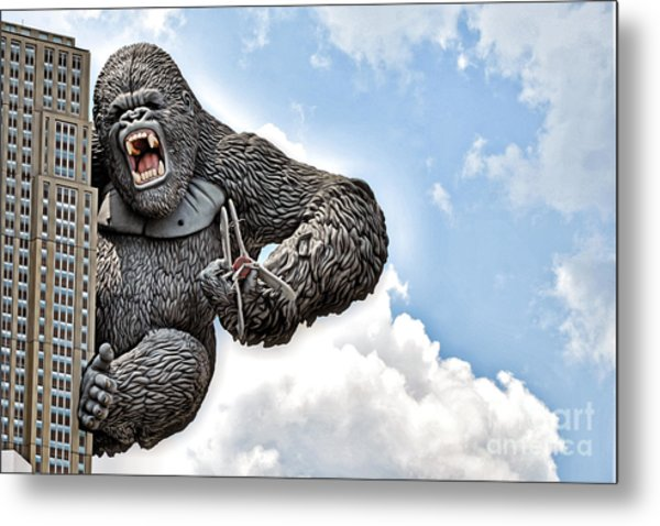 King Kong Metal Print