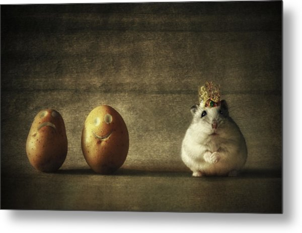 King Of The Potato People... Metal Print