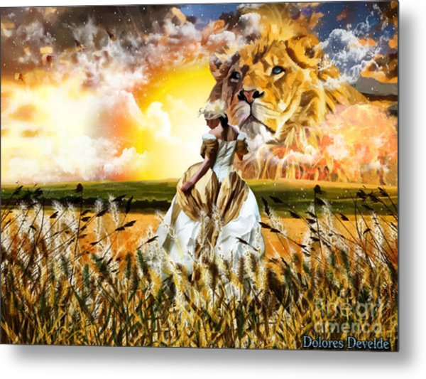 Kingdom Gold Metal Print