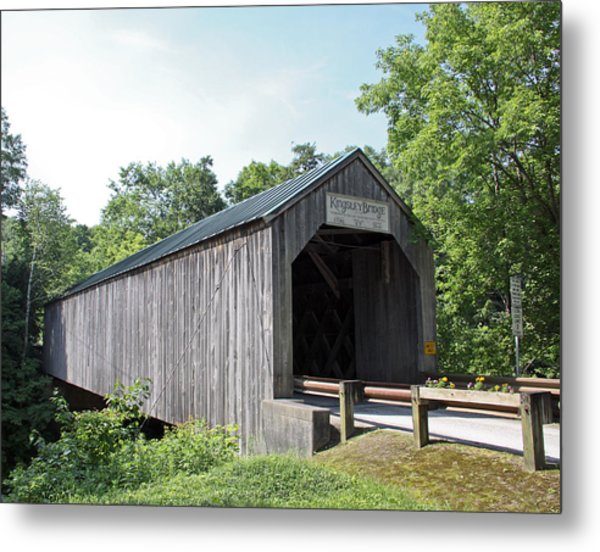 Kingsley Bridge Metal Print