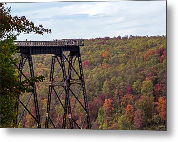 Kinzua Bridge Metal Print