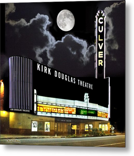 Kirk Douglas Theatre Metal Print