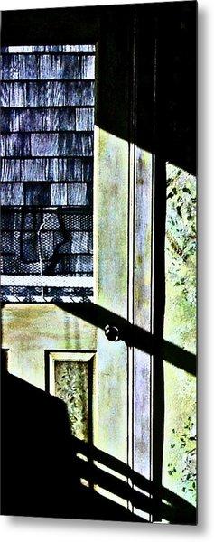Kitchen Door At Alice Brock's Metal Print by Mike McCool