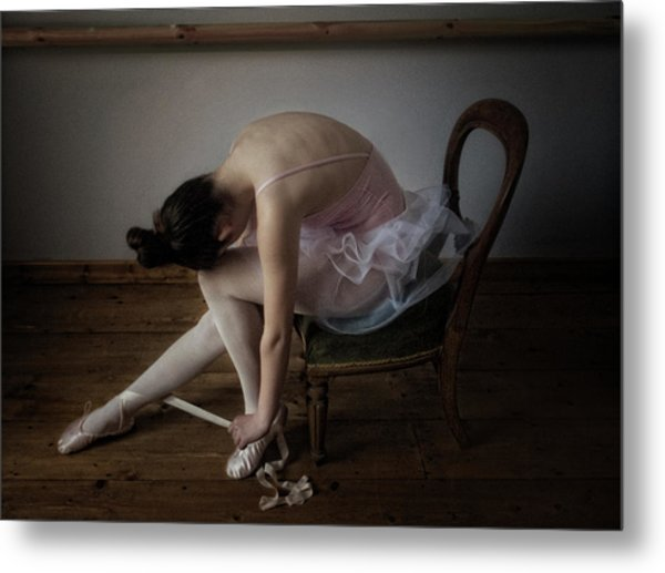 Kitkat, The Ballerina Metal Print