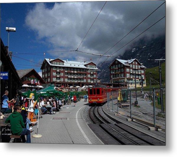 Kleine Schedegg Switzerland Metal Print