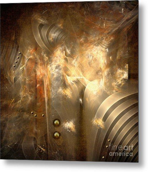 Knighty Armor Metal Print