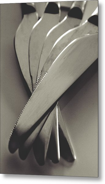 Knives Metal Print