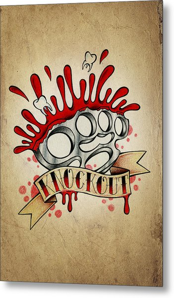 Knockout Metal Print