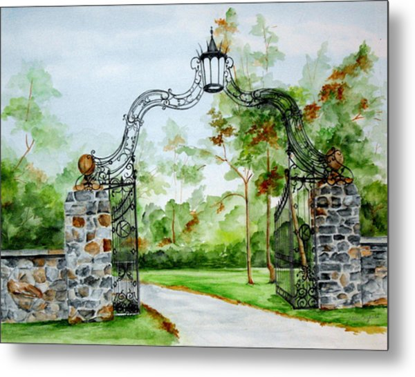 Knox Estate Metal Print