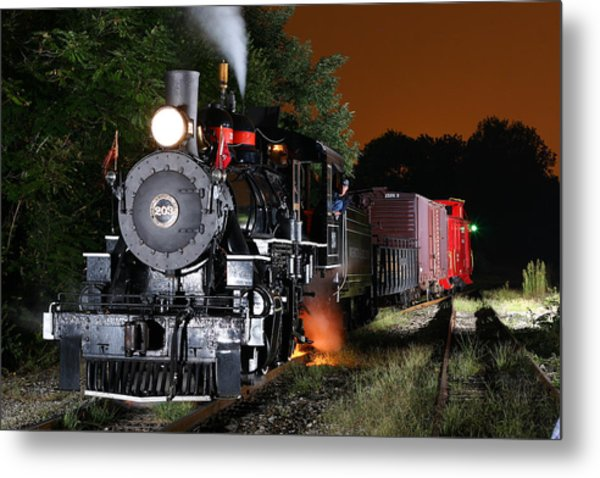 Knoxville Steam Metal Print