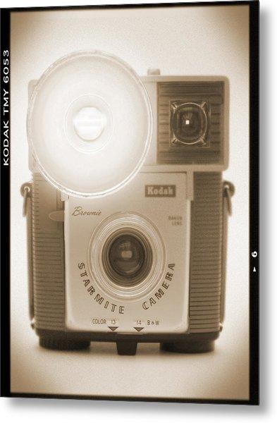 Kodak Brownie Starmite Camera Metal Print