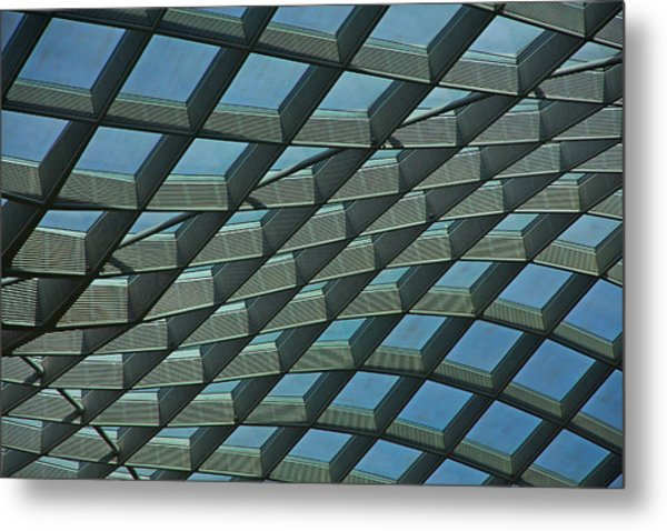 Kogod Courtyard Ceiling #6 Metal Print