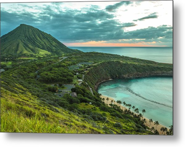 Koko Head Crater And Hanauma Bay 1 Metal Print