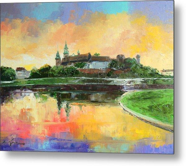 Krakow - Wawel Castle Metal Print