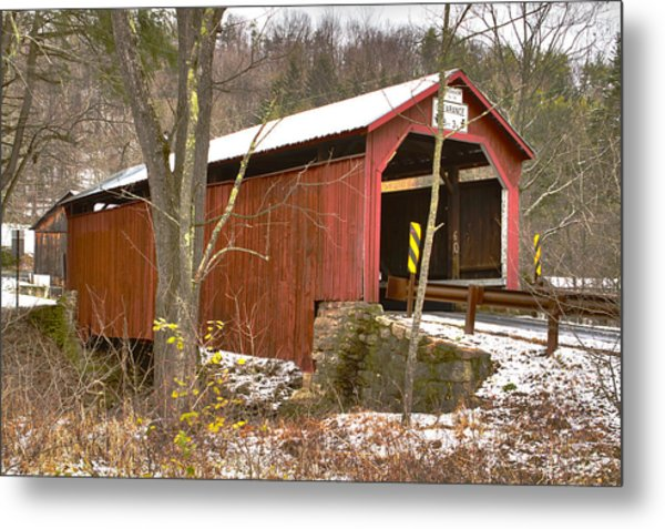 Krickbaum Bridge  Metal Print