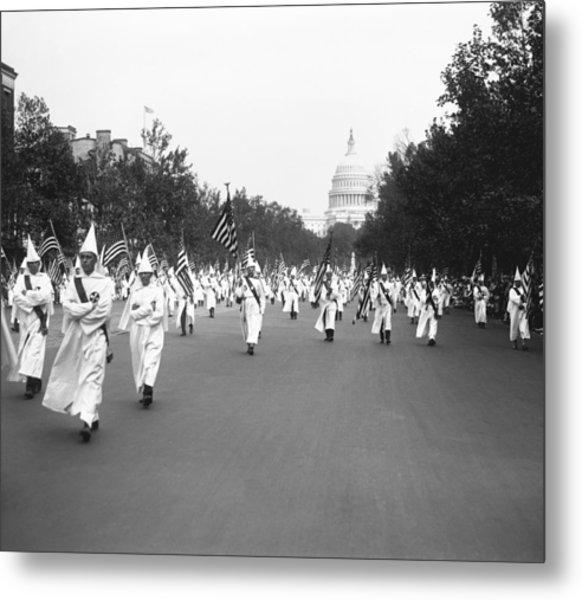 Ku Klux Klan Parade Metal Print