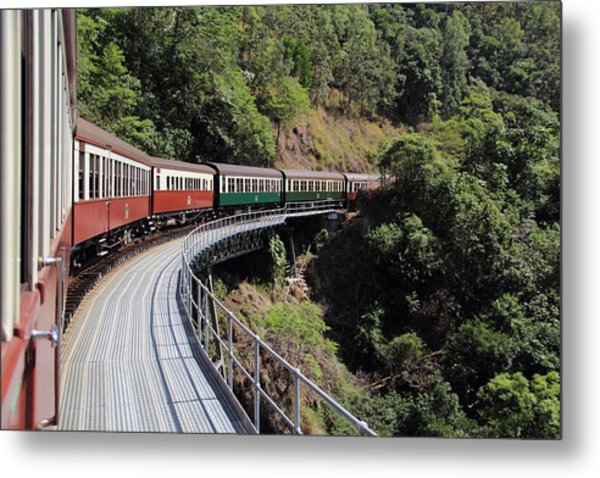 Kuranda Train Metal Print