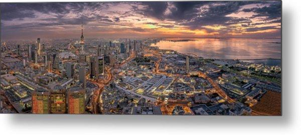 Kuwait City Metal Print by Ahmad Al Saffar