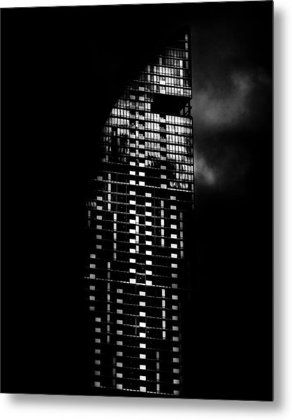 Metal Print featuring the photograph L Tower Toronto Canada by Brian Carson