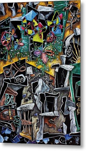La Casa Delle Girandole - Illustrazione Libro Per Bambini - Children Book Illustration Metal Print by Arte Venezia