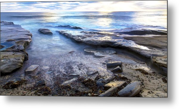 La Jolla Blue Water Metal Print
