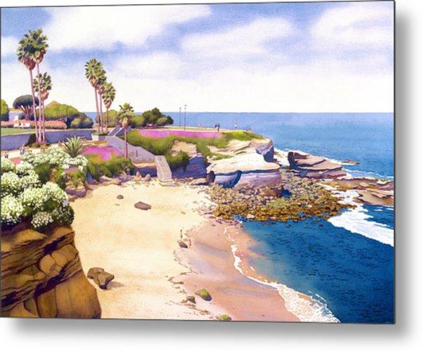 La Jolla Cove Metal Print by Mary Helmreich