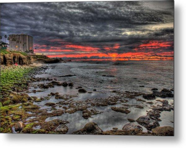 La Jolla Cove Sunset Metal Print