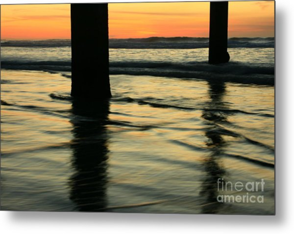 La Jolla Shores Sunset Metal Print