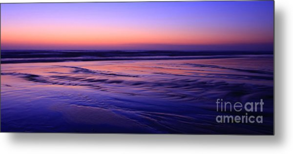 La Jolla Shores Twilight Metal Print