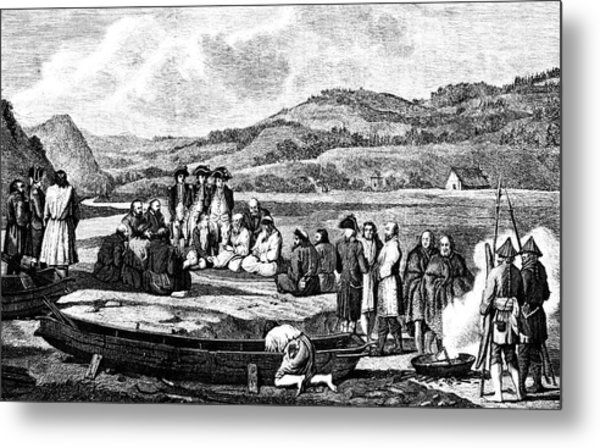 La Perouse In The Far East Metal Print by Collection Abecasis