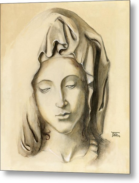 La Pieta-progression 1 Metal Print