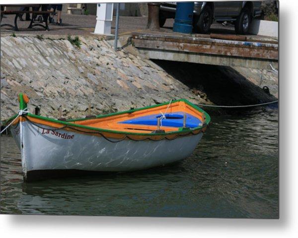 Boat   La Sardine  Metal Print