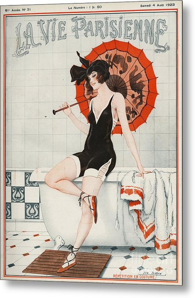 La Vie Parisienne  1923 1920s France Metal Print
