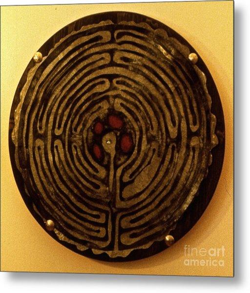 Labyrinthe Metal Print