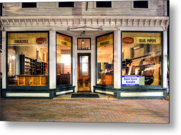 Lackey's Drug Store - Stowe Vermont Metal Print