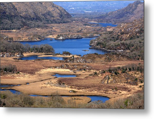 Ladies View Killarney National Park Metal Print