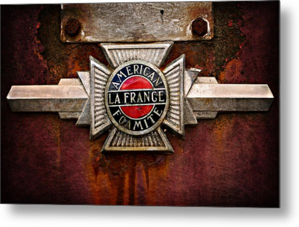 Lafrance Badge Metal Print